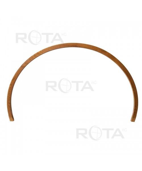 Tapajunta PVC color RAL o madera para ventana redonda y semi redonda