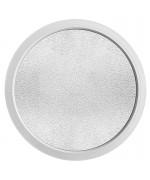 Ventana redonda fija con vidrio impreso PVC bianco