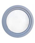 Ventana redonda oscilante PVC en cualquier color RAL