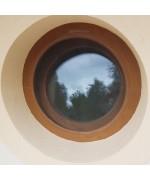 Mosquitera para ventana redonda