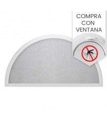Mosquitera semicircular - al comprar con la ventana de nuestra producción